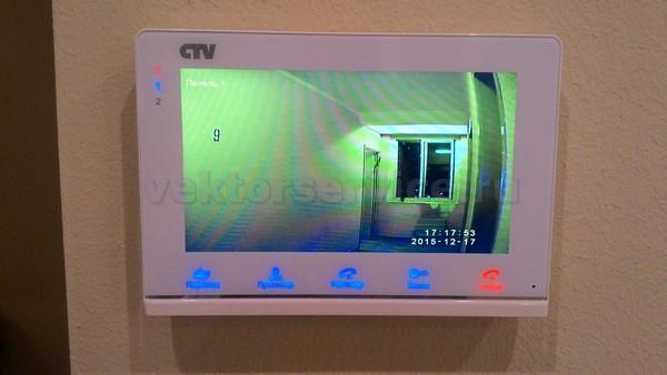Установить видеодомофон в квартире москва